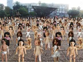 В Тель-Авиве против насилия выступят куклы