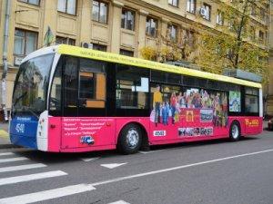 Новый троллейбус повышенной маневренности