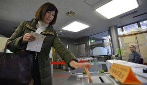 В Японии завершились выборы в верхнюю палату парламента