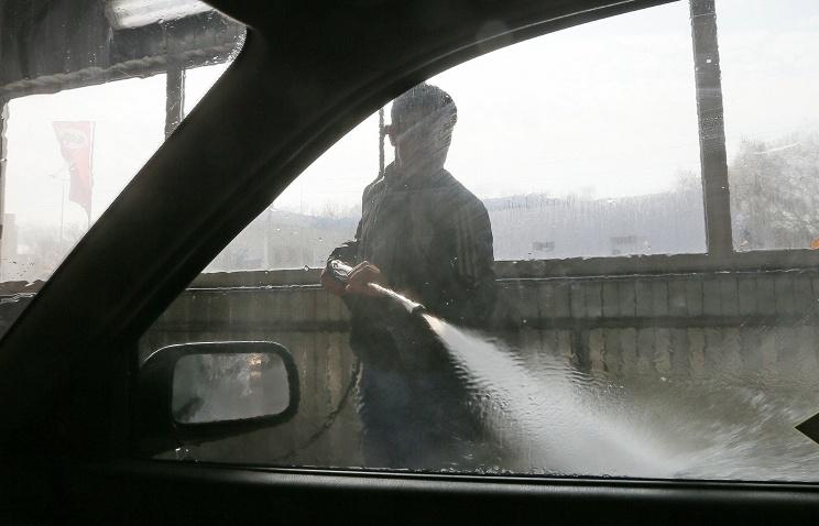 В подмосковных Мытищах на автомойке совершено убийство с целью наживы