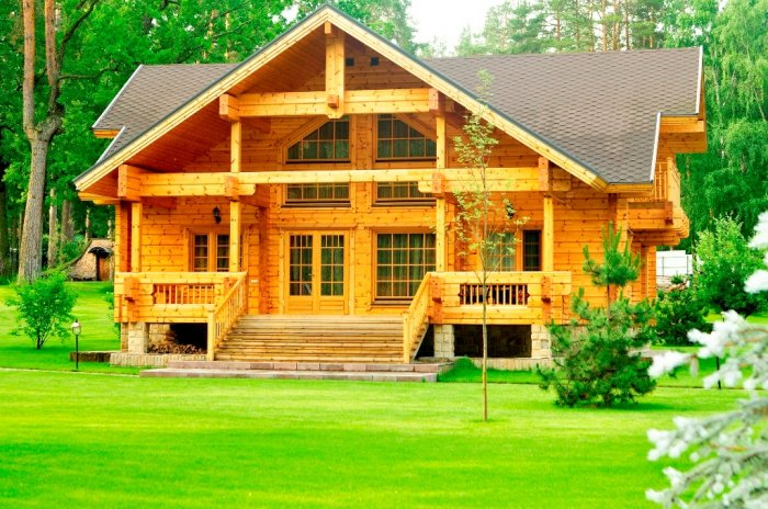 Дом на лоне природы