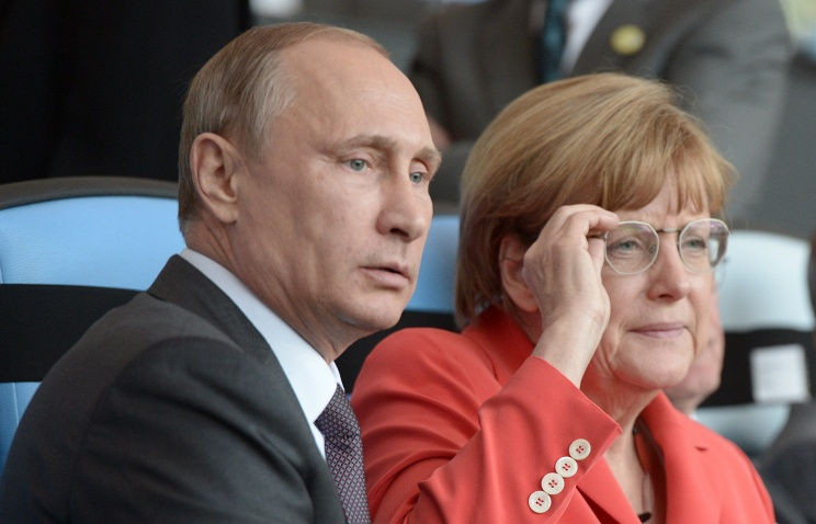 лидеры Российской Федерации и Германии