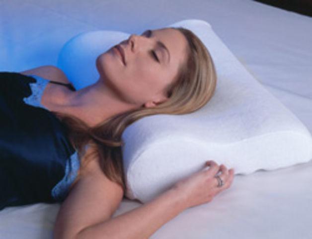 Здоровый и комфортный сон возможен только на ортопедических подушках