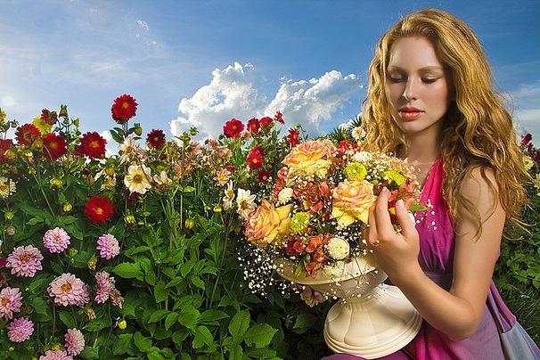 Когда хочется цветов и внимания!