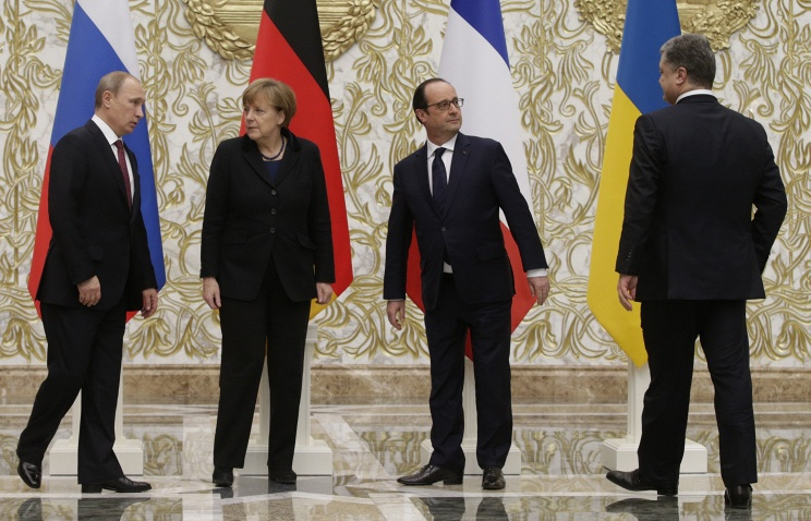 """""""Нормандская четверка"""" отмечает необходимость четкого соблюдения минских договоренностей"""