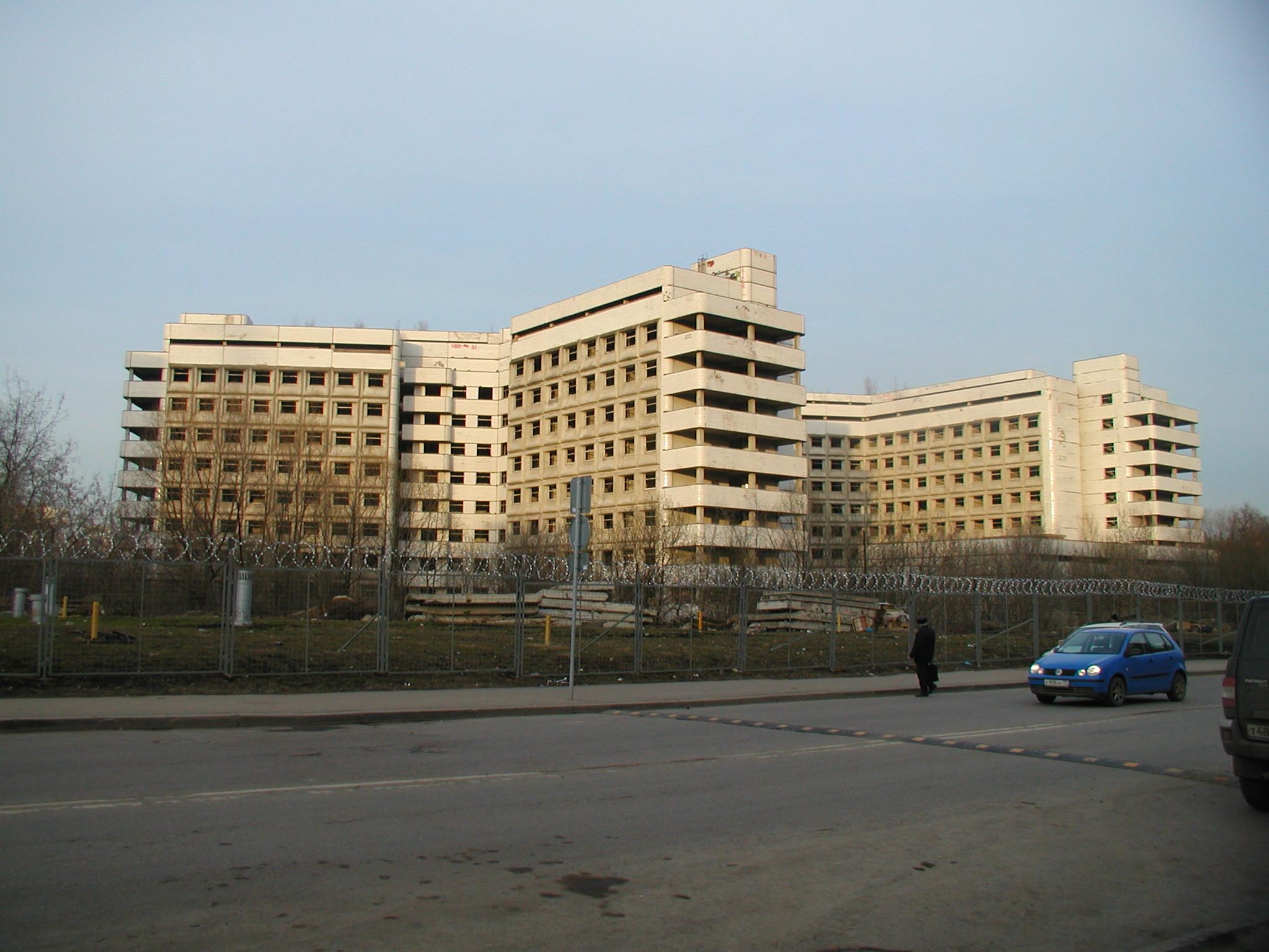 Фильм ужасов снимут в недостроенной Московской больнице