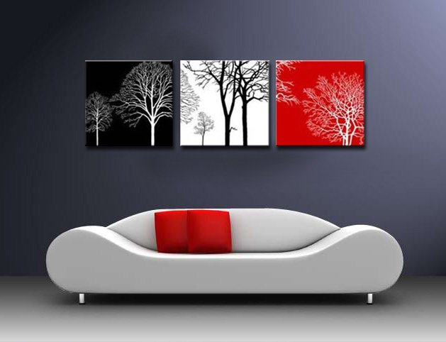 Стильные картины для интерьера своими руками фото