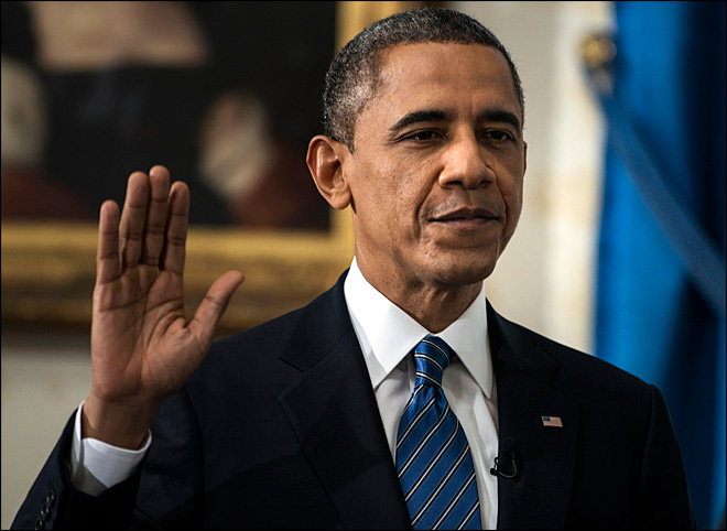 Барак Обама передал России поздравления с Праздником Победы