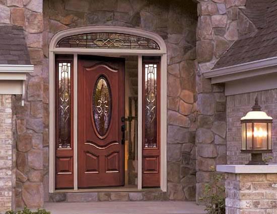 Стильные и надежные входные двери