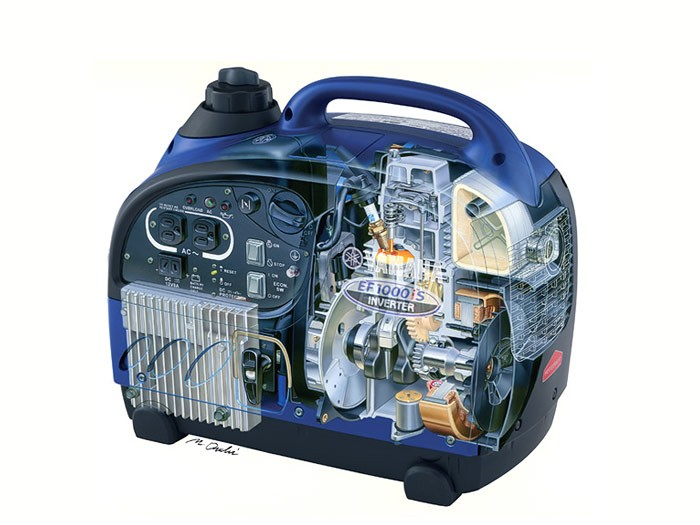 Инверторный генератор: выгодно и удобно