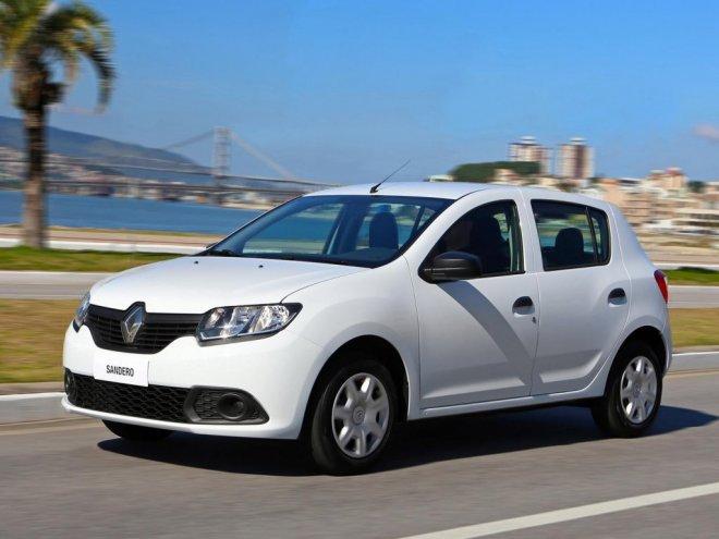 Автомобиль Renault Sandero New 2015