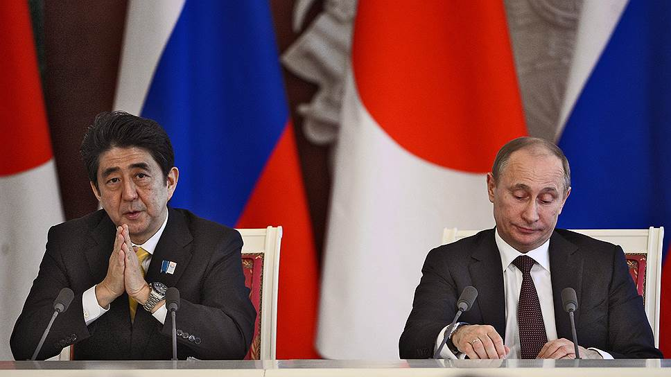 Япония поставила Курилы условием для приезда Владимира Путина в страну