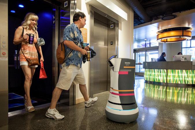 Японский отель полностью роботизировали