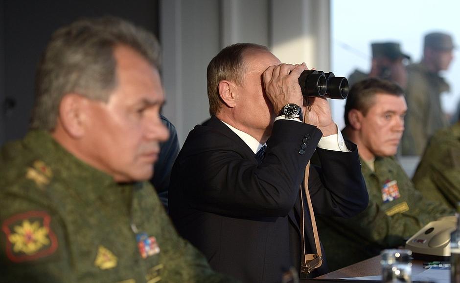 Шойгу рассказал как готовилась российская операция в Сирии