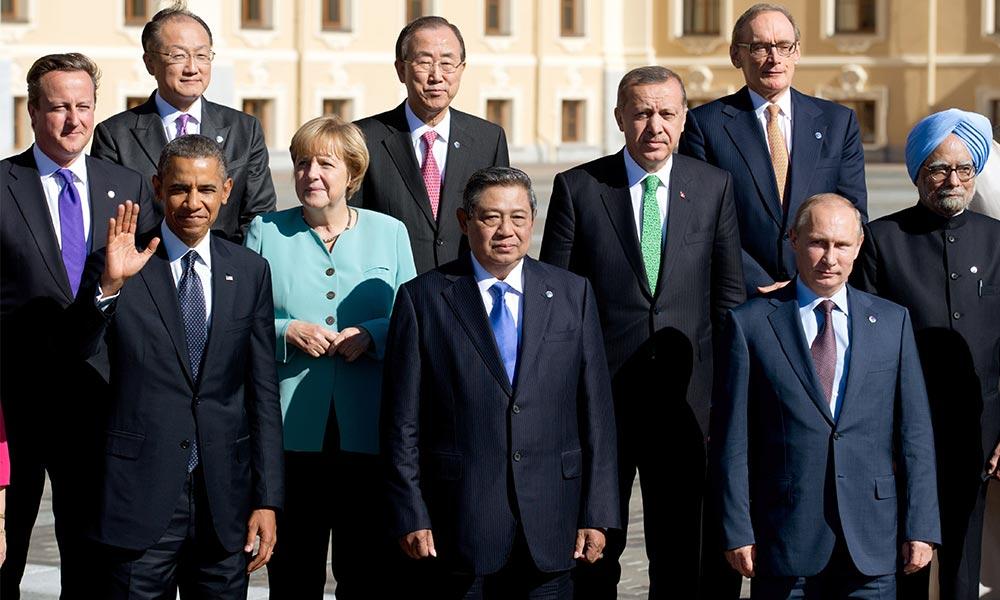 """Путин прибыл в Анталью на двухдневный саммит """"Группы двадцать"""""""