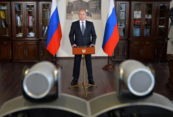 Путин назвал патриотизм единственной объединяющей россиян целью