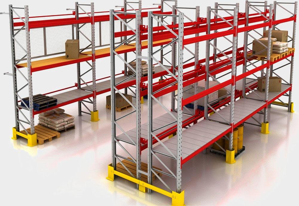 Паллетный стеллаж – лучшее решение для складских помещений