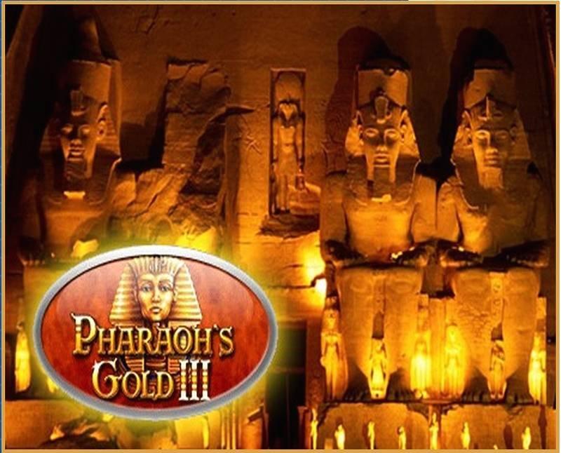 Золото фараонов на страницах одноименного казино