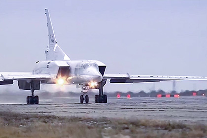 Россия впервые нанесла авиаудары используя иранский аэродром