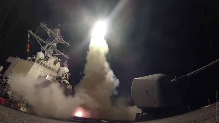 США начали бомбить Сирию