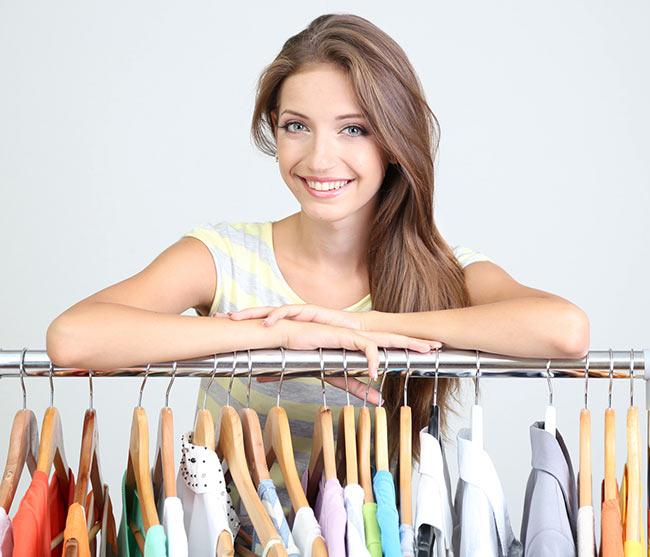 Плечики для всех типов одежды
