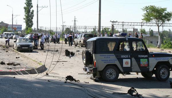 Террористический акт в Махачкале