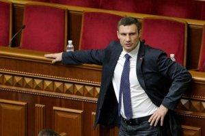 Кличко выступает против проведения внеочередной сессии Киевсовета