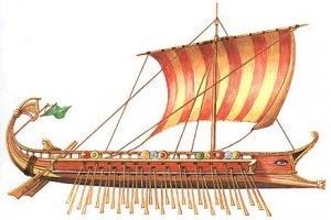 Остатки древнегреческой триеры обнаружили в Черном море