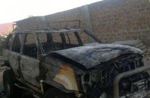 В Севастополе сожгли машину депутата от «Русского блока»