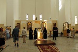 Открытие православного храма в Таллинне