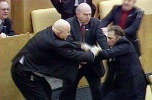Драка в Государственной думе