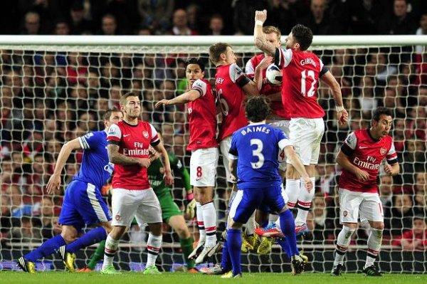 «Арсенал» и «Эвертон» поделил очки