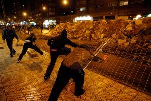 Испания: жители Бургоса продолжают протестовать