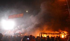Пожар в доме по улице Грушевского удалось потушить