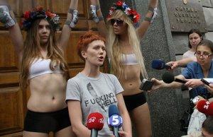 Нападение на Анну Гуцол – лидера движения «FEMEN»