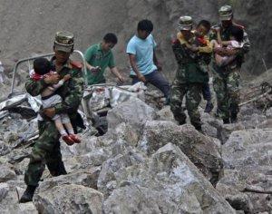 Более 90 человек погибли при землетрясении в Китае