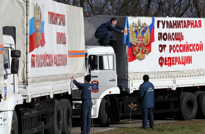 МЧС РФ готово к отправлению четвертого гуманитарного конвоя в Украину