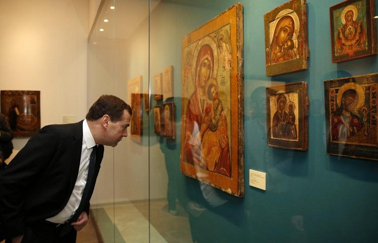 """Первым посетителем """"Нового Иерусалима"""" стал Дмитрий Медведев"""