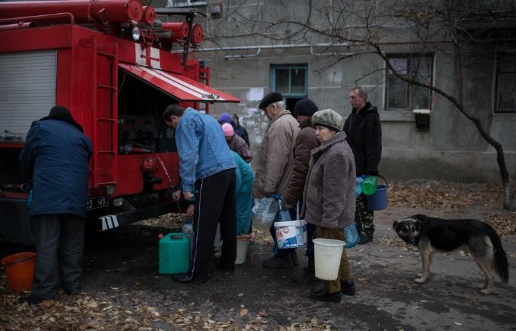 Объявленная Киевом блокада Донбасса грозит гуманитарной катастрофой