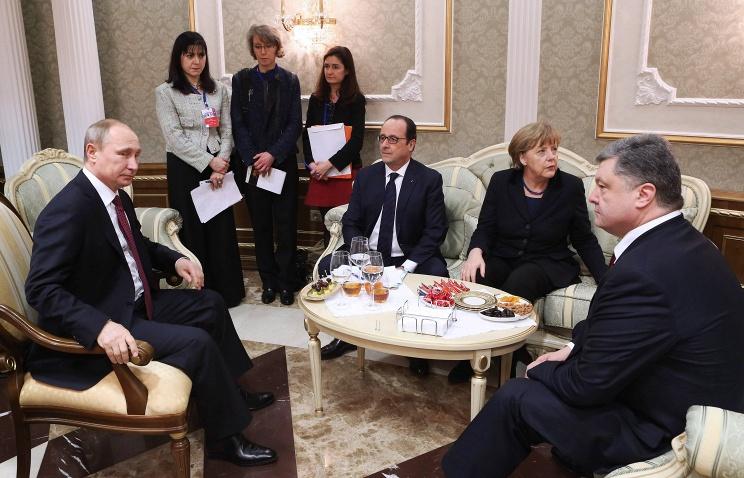"""Переговоры """"нормандской четверки"""" в Минске. Ключевые моменты"""