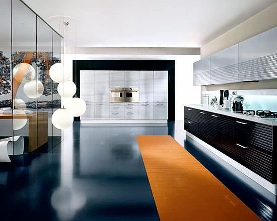 Около половины свободного времени хозяйка проводит на кухне, готовя разные вкусности