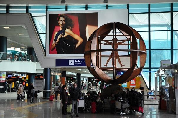 Как добраться из аэропорта имени Леонардо да Винчи в Рим