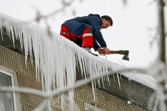 Разрушительная сила льда