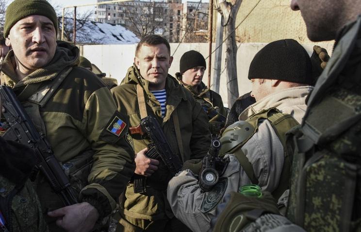 Глава ДНР Захарченко ранен в ходе боя под Дебальцево