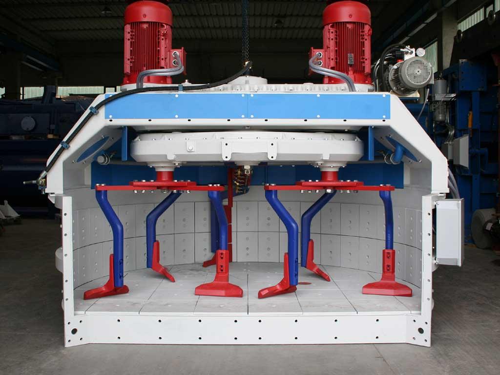 Отличительные особенности бетоносмесителя цикличного действия
