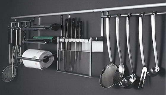 Рейлинги для вашей кухни