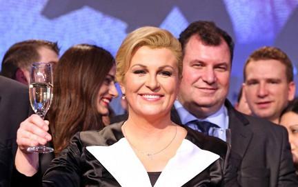 Отказ от приезда в Москву дала президент Хорватии