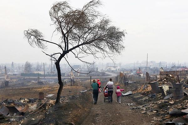 Число жертв пожара в Хакасии продолжает увеличиваться