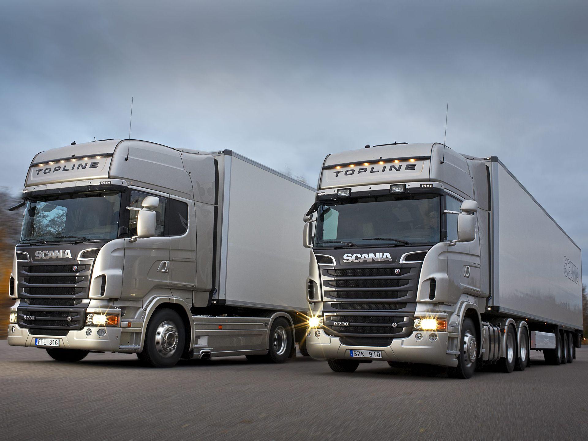 Scania: грузовая техника и сервис высшей категории
