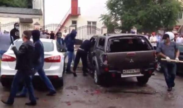 Погром в Грозном